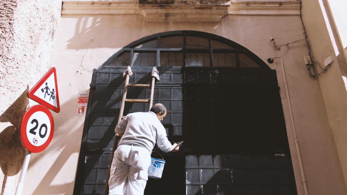 En omgang maling frisker hjemmet op